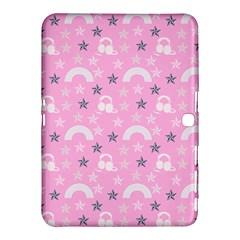 Music Star Pink Samsung Galaxy Tab 4 (10 1 ) Hardshell Case  by snowwhitegirl