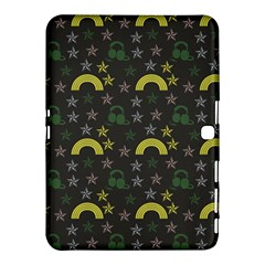 Music Star Dark Grey Samsung Galaxy Tab 4 (10 1 ) Hardshell Case  by snowwhitegirl