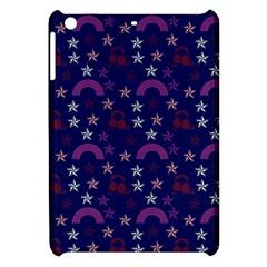 Music Stars Navy Apple Ipad Mini Hardshell Case by snowwhitegirl