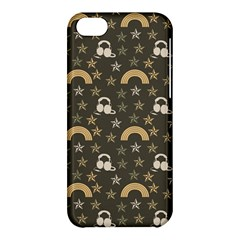 Music Stars Grey Apple Iphone 5c Hardshell Case by snowwhitegirl