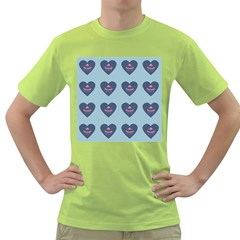 Cupcake Heart Teal Blue Green T Shirt by snowwhitegirl