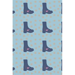 Deer Boots Teal Blue 5 5  X 8 5  Notebooks by snowwhitegirl