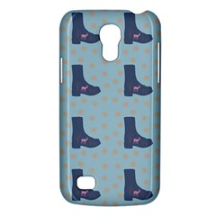 Deer Boots Teal Blue Galaxy S4 Mini by snowwhitegirl