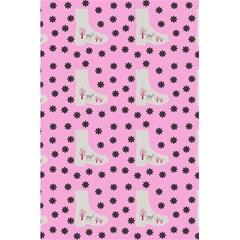 Deer Boots Pink Grey 5 5  X 8 5  Notebooks by snowwhitegirl