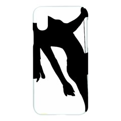 Pole Dancer Silhouette Apple Iphone X Hardshell Case by Jojostore