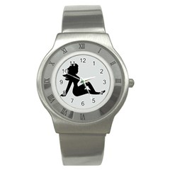 Girls Of Fitness Stainless Steel Watch by Mariart