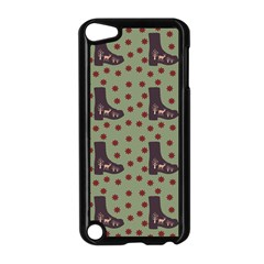 Deer Boots Green Apple Ipod Touch 5 Case (black) by snowwhitegirl