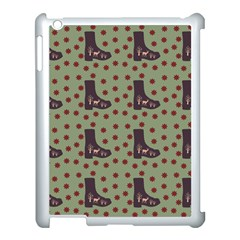 Deer Boots Green Apple Ipad 3/4 Case (white) by snowwhitegirl