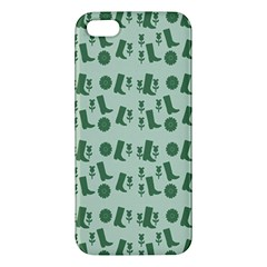 Green Boots Apple Iphone 5 Premium Hardshell Case by snowwhitegirl
