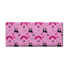 Music Stars Rose Pink Cosmetic Storage Cases by snowwhitegirl