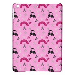 Music Stars Rose Pink Ipad Air Hardshell Cases by snowwhitegirl