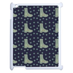 Blue Boots Apple Ipad 2 Case (white) by snowwhitegirl