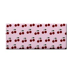Pink Cherries Cosmetic Storage Cases by snowwhitegirl