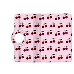 Pink Cherries Kindle Fire Hdx 8 9  Flip 360 Case by snowwhitegirl
