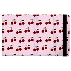 Pink Cherries Apple Ipad Pro 9 7   Flip Case
