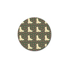 Green Boot Golf Ball Marker (4 Pack) by snowwhitegirl