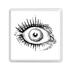 Big Eye Monster Memory Card Reader (square)  by AnjaniArt