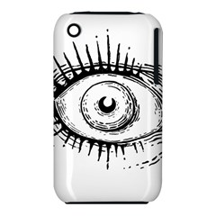 Big Eye Monster Iphone 3s/3gs by AnjaniArt