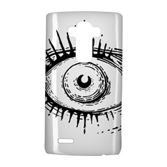 Big Eye Monster Lg G4 Hardshell Case by AnjaniArt