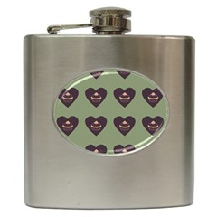 Cupcake Green Hip Flask (6 Oz) by snowwhitegirl