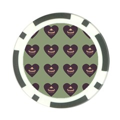 Cupcake Green Poker Chip Card Guard (10 Pack) by snowwhitegirl