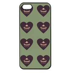 Cupcake Green Apple Iphone 5 Seamless Case (black) by snowwhitegirl