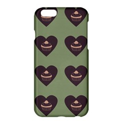 Cupcake Green Apple Iphone 6 Plus/6s Plus Hardshell Case by snowwhitegirl