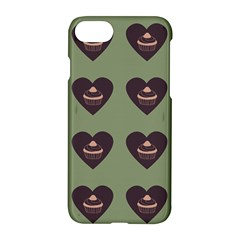 Cupcake Green Apple Iphone 7 Hardshell Case by snowwhitegirl