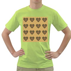 Cupcake Pumpkin Orange Grey Green T Shirt