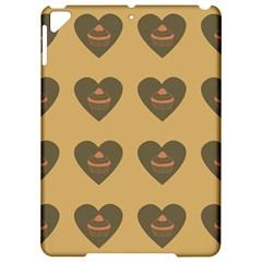 Cupcake Pumpkin Orange Grey Apple Ipad Pro 9 7   Hardshell Case by snowwhitegirl