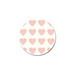 Cupcake White Pink Golf Ball Marker by snowwhitegirl