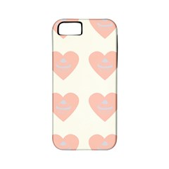 Cupcake White Pink Apple Iphone 5 Classic Hardshell Case (pc+silicone) by snowwhitegirl