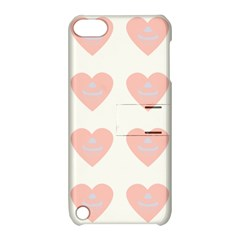 Cupcake White Pink Apple Ipod Touch 5 Hardshell Case With Stand by snowwhitegirl