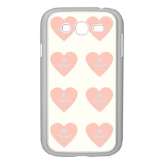Cupcake White Pink Samsung Galaxy Grand Duos I9082 Case (white) by snowwhitegirl