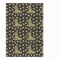 Charcoal Boots Small Garden Flag (two Sides)