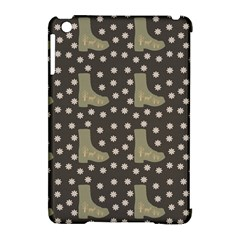 Charcoal Boots Apple Ipad Mini Hardshell Case (compatible With Smart Cover) by snowwhitegirl