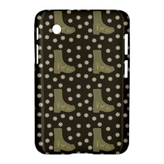 Charcoal Boots Samsung Galaxy Tab 2 (7 ) P3100 Hardshell Case  by snowwhitegirl