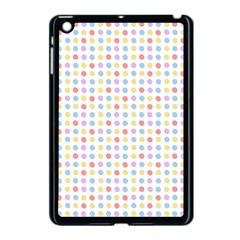 Blue Pink Yellow Eggs On White Apple Ipad Mini Case (black) by snowwhitegirl