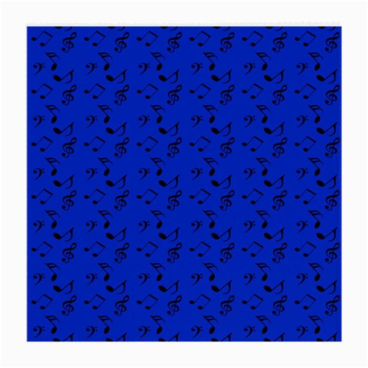 Royal Blue Music Medium Glasses Cloth