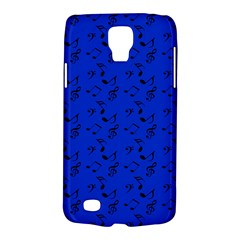 Royal Blue Music Galaxy S4 Active by snowwhitegirl