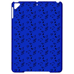 Royal Blue Music Apple Ipad Pro 9 7   Hardshell Case by snowwhitegirl