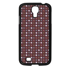 Grey Pink Lilac Brown Eggs On Brown Samsung Galaxy S4 I9500/ I9505 Case (black)