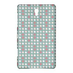 Pink Peach Grey Eggs On Teal Samsung Galaxy Tab S (8 4 ) Hardshell Case  by snowwhitegirl