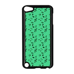 Green Music Apple Ipod Touch 5 Case (black) by snowwhitegirl