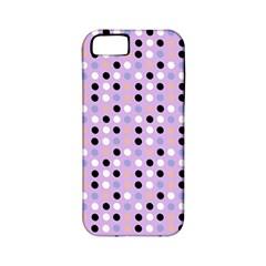 Black White Pink Blue Eggs On Violet Apple Iphone 5 Classic Hardshell Case (pc+silicone) by snowwhitegirl