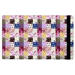 Quilt Of My Patterns Small Apple Ipad Pro 9 7   Flip Case by snowwhitegirl
