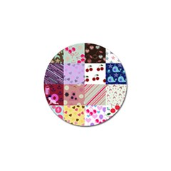 Quilt Of My Patterns Golf Ball Marker (10 Pack) by snowwhitegirl