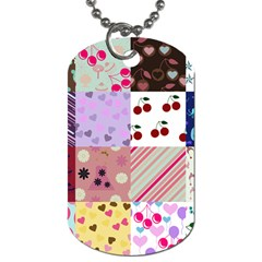 Quilt Of My Patterns Dog Tag (two Sides) by snowwhitegirl