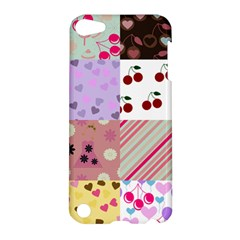 Quilt Of My Patterns Apple Ipod Touch 5 Hardshell Case by snowwhitegirl