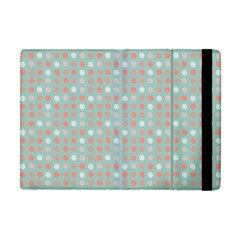 Peach Pink Eggs On Green Apple Ipad Mini Flip Case by snowwhitegirl